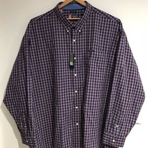 Chaps Big & Tall 6XB/6TG Button Down Shirt